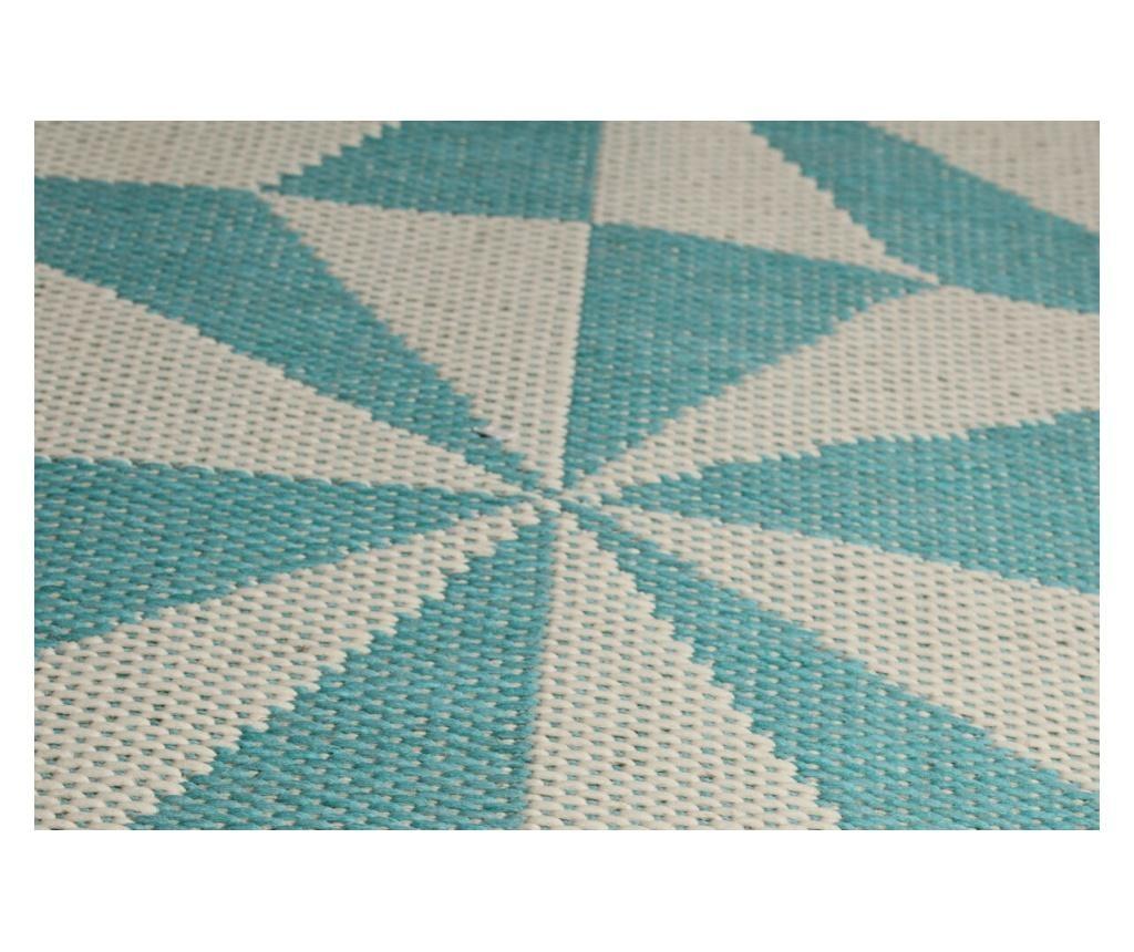 Tepih Jorvik Turquoise 100x150 cm