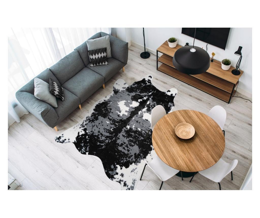 Manzambi Black White Szőnyeg 160x230 cm