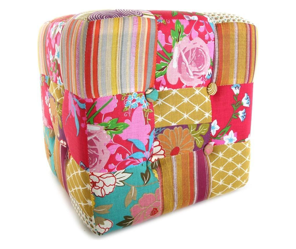 Floral Fantasy Cube Zsámoly
