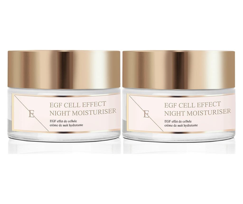EGF Cell Effect 2 db Éjszakai arckrém 50 ml