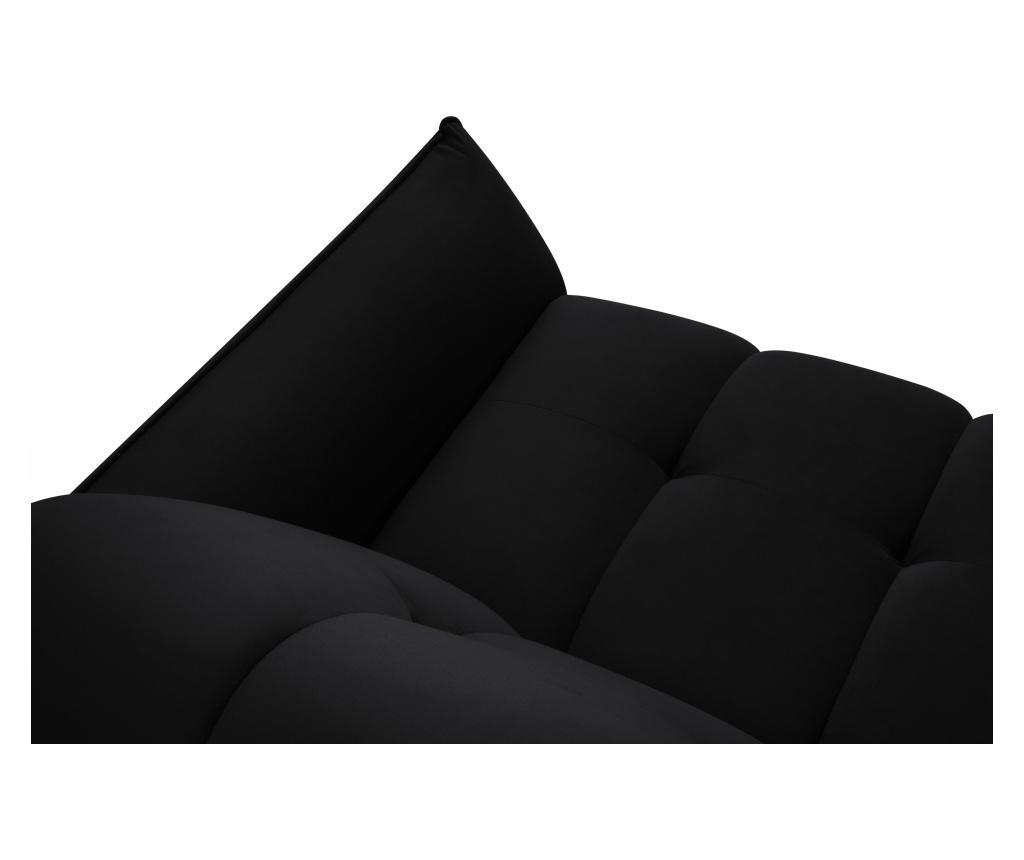 Canapea extensibila cu 3 locuri Colorado Black