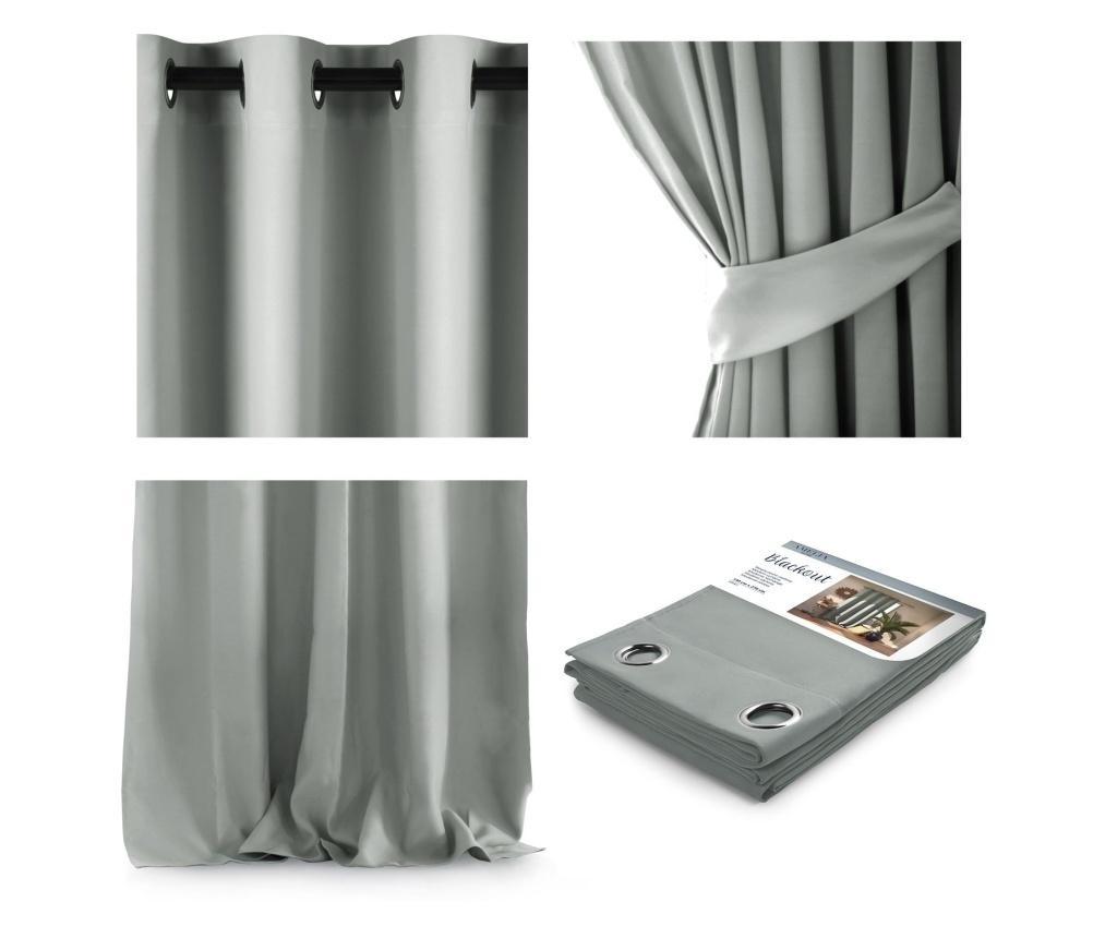 Draperie Blackout Silver 140x270 cm