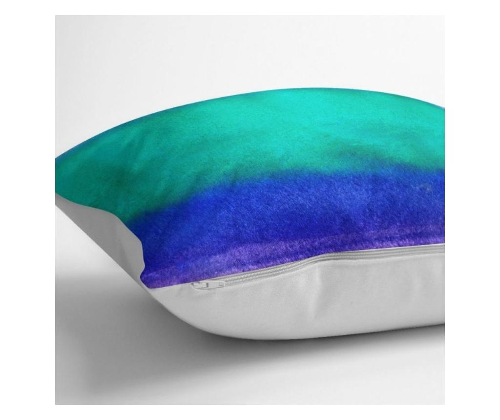 Fata de perna Rainbow Colorful Modern 45x45 cm