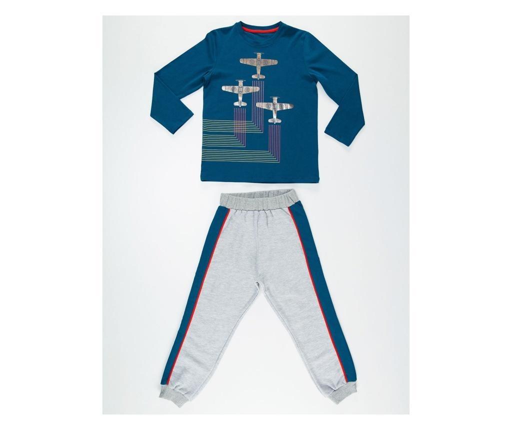 Set bluza si pantaloni 3 Gliders 7 years