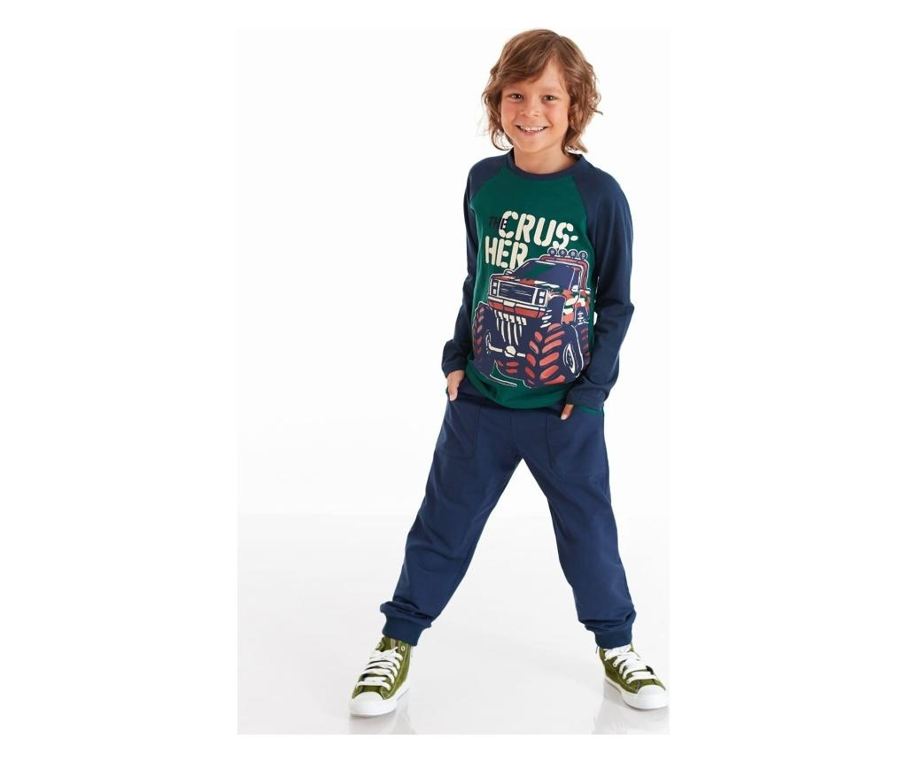 Set bluza si pantaloni Monster Car 8 years