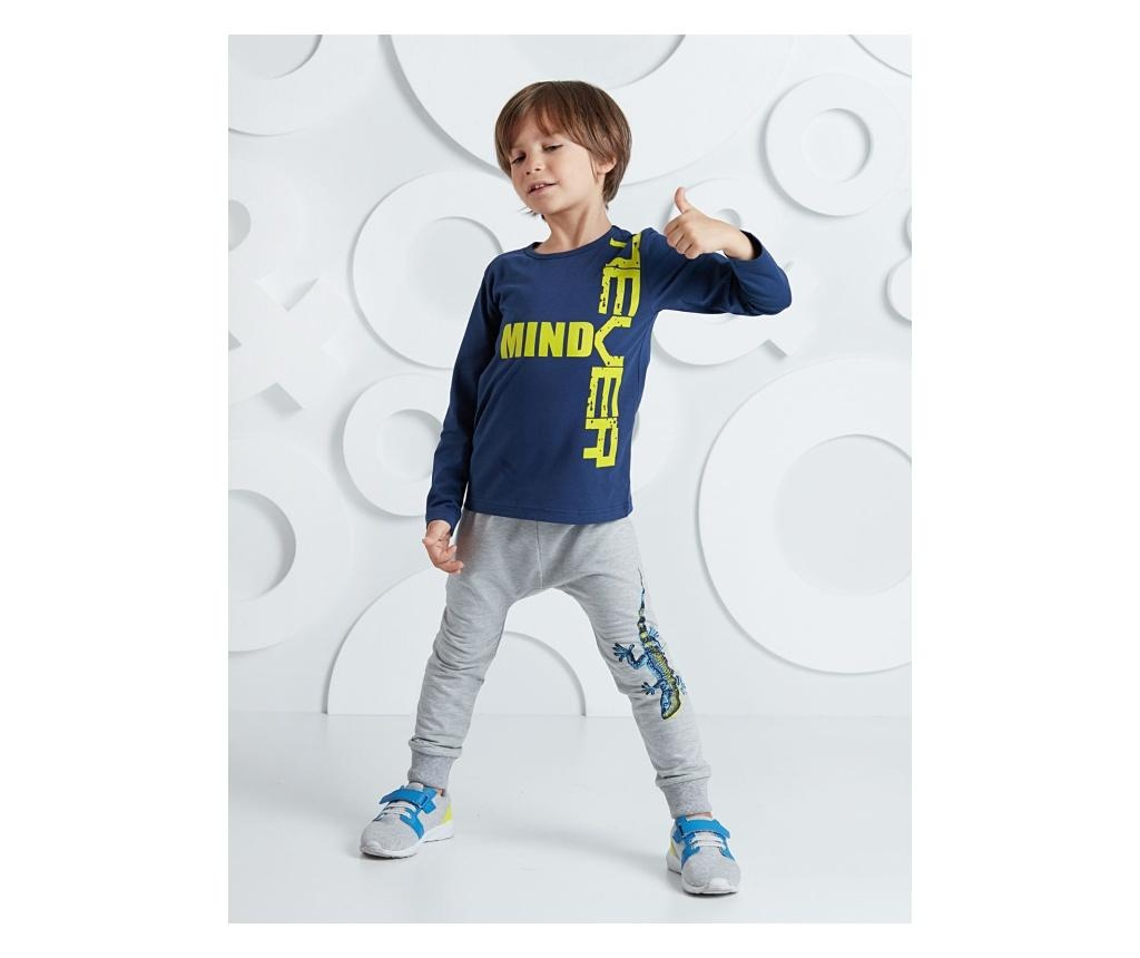 Set bluza si pantaloni Salamander Grey/Navy 9 years