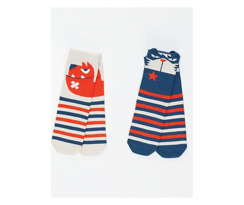 Set 2 perechi de sosete Cat&Dog 6-7 years