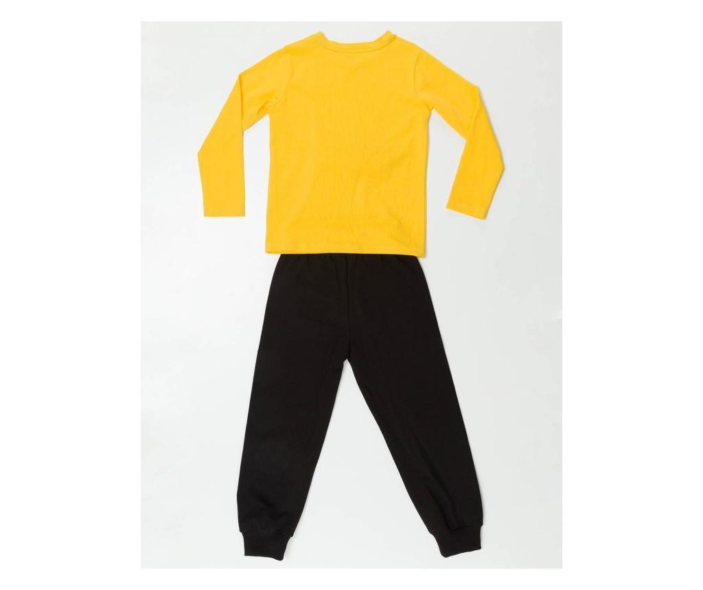 Set bluza si pantaloni Pirate Emoji 5 years