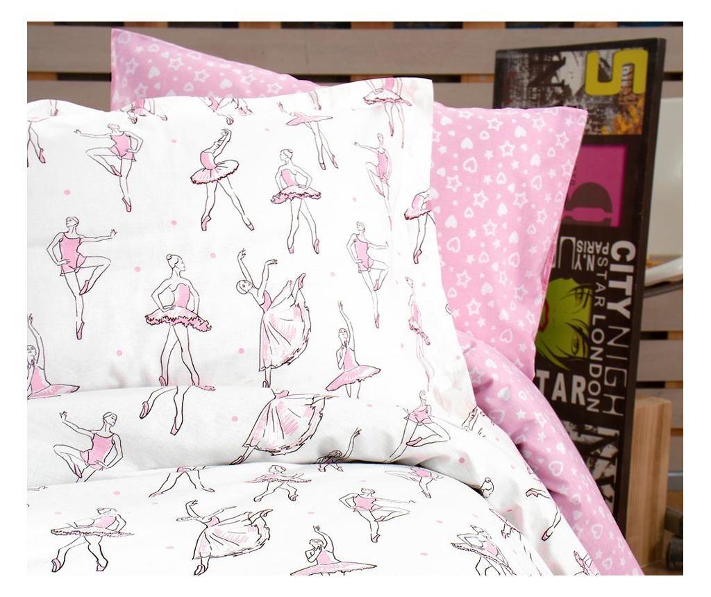 Rina Pink Egyszemélyes Ranforce ágynemű